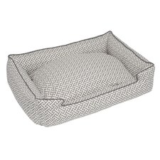 Hera Grey Everyday Lounge Bolster Pet Bed