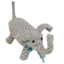 Coco the Elephant Rope Dog Toy