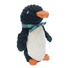 Pepper the Penguin Rope Dog Toy