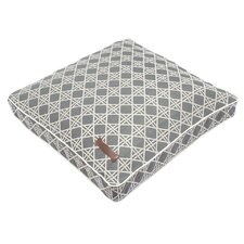 Trellis Square Pillow Dog Bed