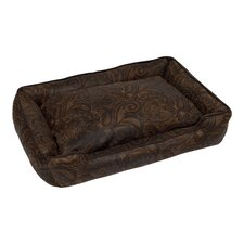 Duke Lounge Bolster Dog Bed