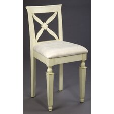 "24"" Bar Stool in Distressed White"