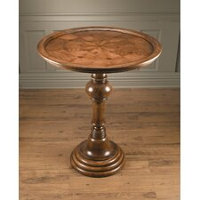 <strong>AA Importing</strong> Pedestal Bar Table in Medium Brown