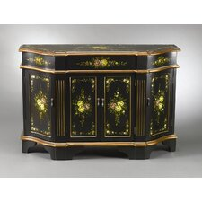 Cabinet with Toned Accents