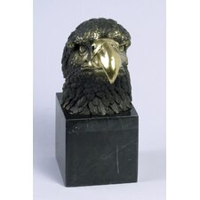 Small Eagle Head Statue