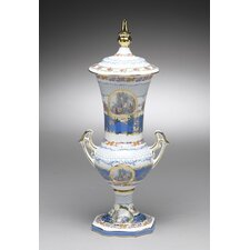 Porcelain Urn with Lid