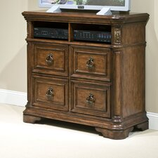 <strong>kathy ireland Home by Vaughan</strong> Romantic Dreams 4 Drawer Media Chest