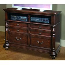 Provence Cottage 6 Drawer Media Dresser