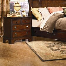 <strong>kathy ireland Home by Vaughan</strong> Georgetown 3 Drawer Nightstand