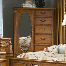 <strong>kathy ireland Home by Vaughan</strong> Southern Heritage 6 Drawer Wardrobe