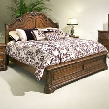 Romantic Dreams Sleigh Bed
