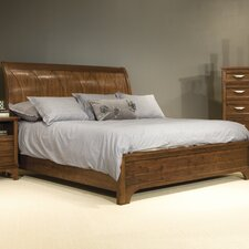 <strong>kathy ireland Home by Vaughan</strong> Radiance Sleigh Bed