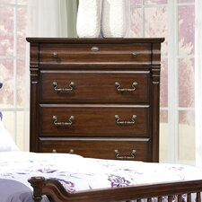 <strong>kathy ireland Home by Vaughan</strong> Washington Manor 5 Drawer Chest
