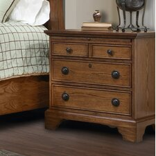 Georgetown 3 Drawer Nightstand