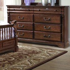 <strong>kathy ireland Home by Vaughan</strong> Washington Manor 8 Drawer Dresser