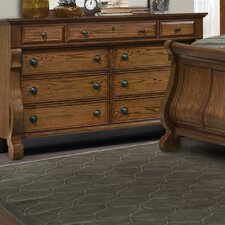 <strong>kathy ireland Home by Vaughan</strong> Georgetown 9 Drawer Dresser