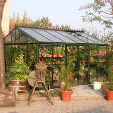 "Royal Victorian 8' 6"" H x 10.0' W x 15.0' D Glass Greenhouse"