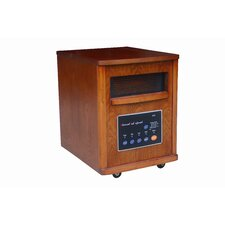 Cyclone 4-Season Infrared Cabinet Space Heater with Air Purifier