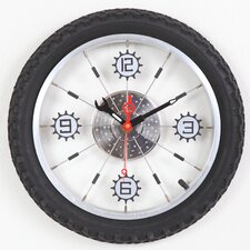 "<strong>Maples Clock</strong> 16"" Bike Wall Clock"