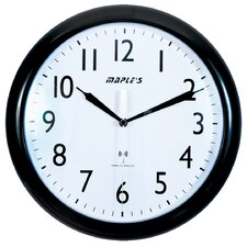 "<strong>Maples Clock</strong> Radio Controlled 10"" Wall Clock"
