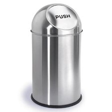 Intro 11.82-Litre Pushman Rubbish Bin