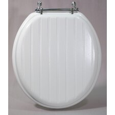 Magnolia Molded Wood Round Toilet Seat