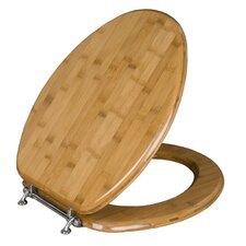 Magnolia Bamboo Elongated Toilet Seat