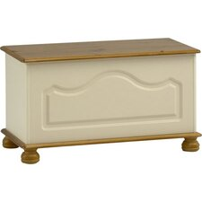 Balham Blanket Box in Cream and Pine