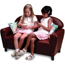 "<strong>Brand New World</strong> ""Just Like Home"" Vinyl Upholstery Sofa (Toddler, Preschool & School-Age)"