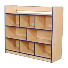 Youth Single-Sided Storage Unit with Book Rack