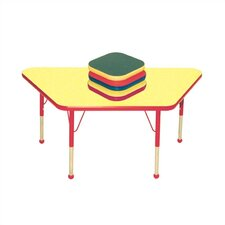 <strong>Mahar</strong> Small Trapezoid Creative Colors Activity Table
