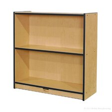 "<strong>Mahar</strong> 36"" Single-Sided Bookcase"