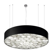 Spiro 6 Light Drum Pendant