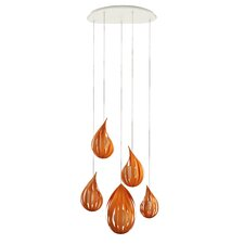 Raindrop 5 Light Pendant