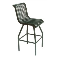 "30"" H Food Court Chair with Perforated Pattern"