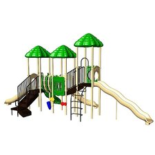 UPlay Today UP & Away with Bone Bridge & Standard Rung Climber with Vine Climber