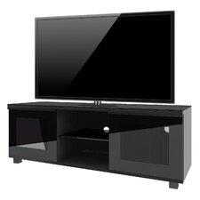 """Premium TV-Rack """"Luxala"""" mit 2 Türen, 2 Fächern und Rollen"""