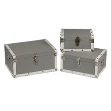 3 Piece Shagreen Trunks Set