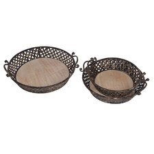 3 Piece Tray Set
