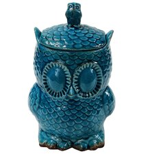 Owl Decorative Canister