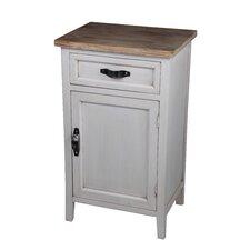 1 Drawer 1 Door End Table