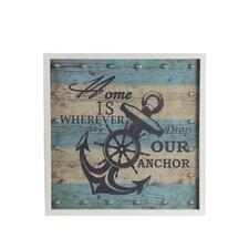 Anchor Framed Wall Art