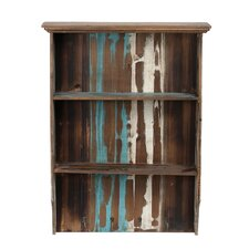 2 Tier Reclaimed Wall Shelf