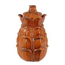 Lidded Decorative Canister