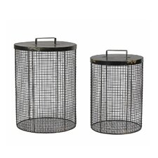Mesh Storage Basket (Set of 2)