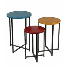 3 Piece End Table Set