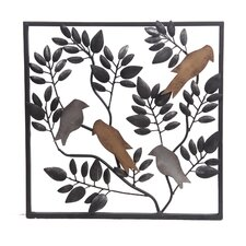 Iron Loral Wall Decor
