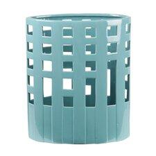 Ceramic Wide Pierced Vase