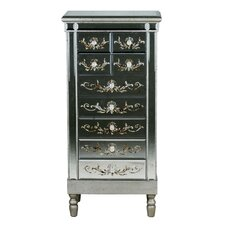 9 Drawer Mirrored Chest
