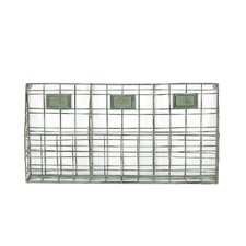 3 Section Wall Organizer